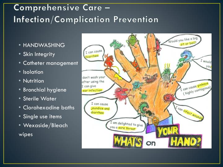 Comprehensive Care – Infection/Complication Prevention