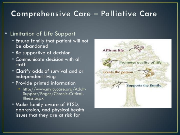 Comprehensive Care – Palliative Care