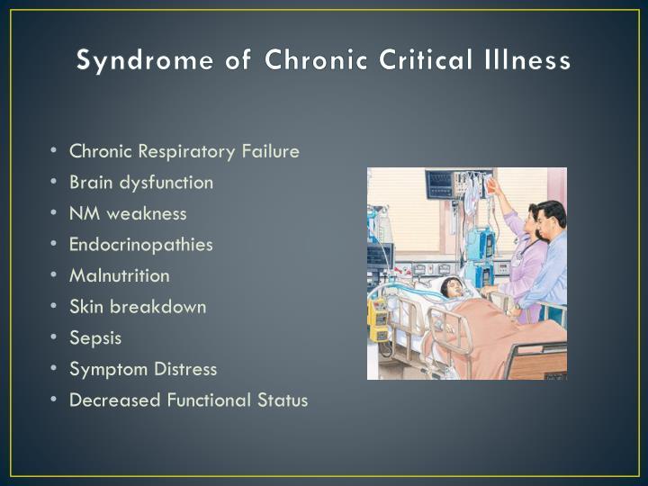Syndrome of Chronic Critical Illness