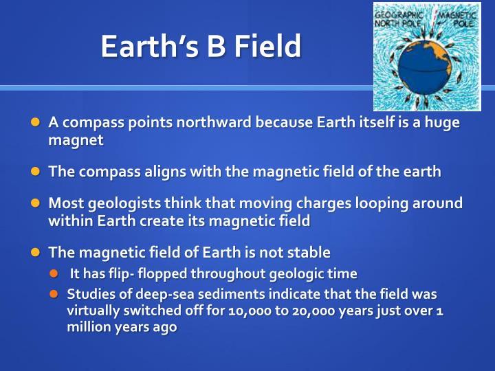 Earth's B Field