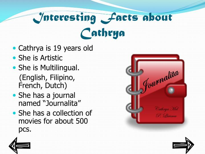 Interesting facts about cathrya