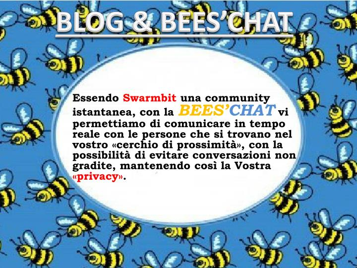 BLOG & BEES'CHAT