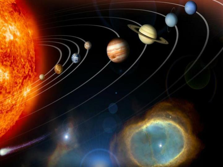 Mother earth and Planets