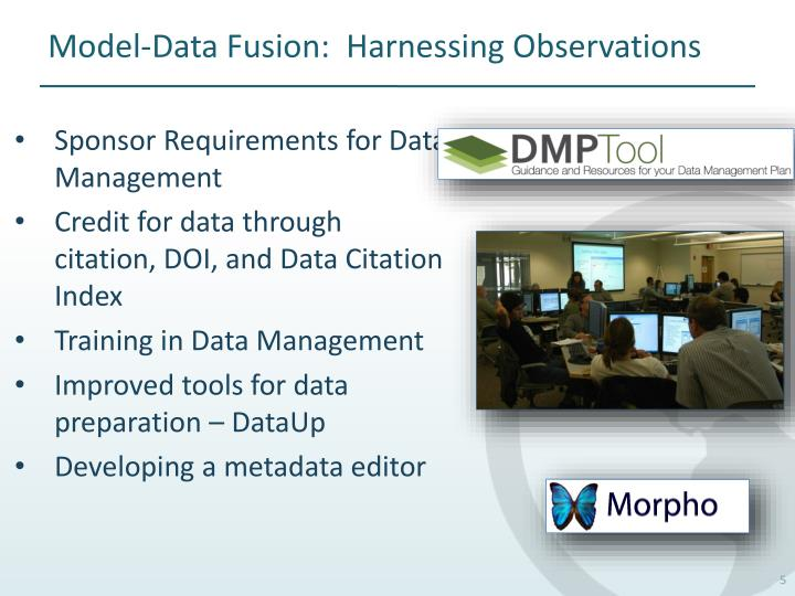 Model-Data Fusion:  Harnessing Observations