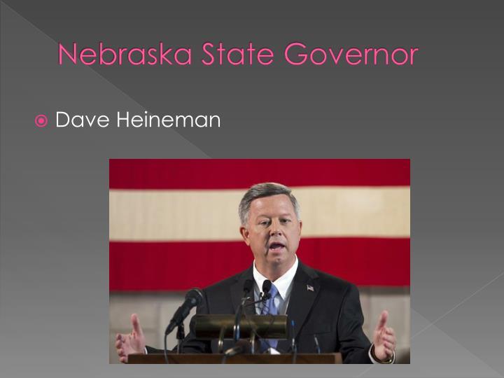 Nebraska State Governor