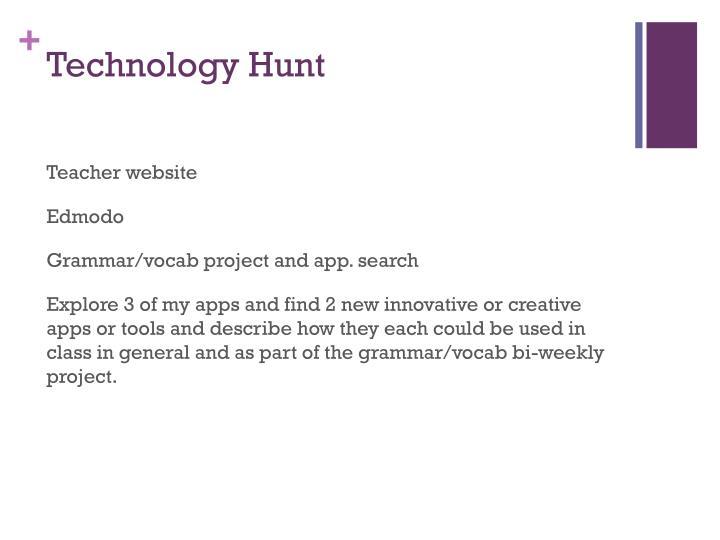 Technology Hunt