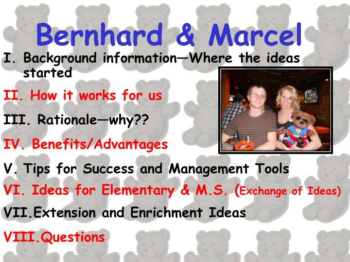 Bernhard & Marcel