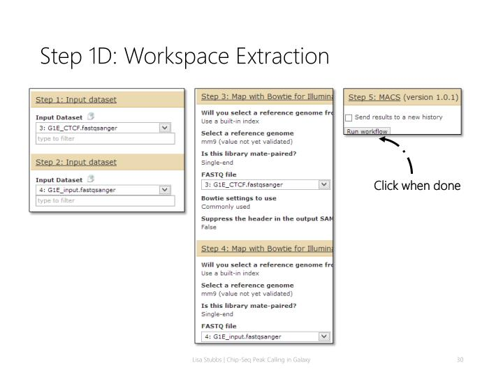 Step 1D: Workspace Extraction