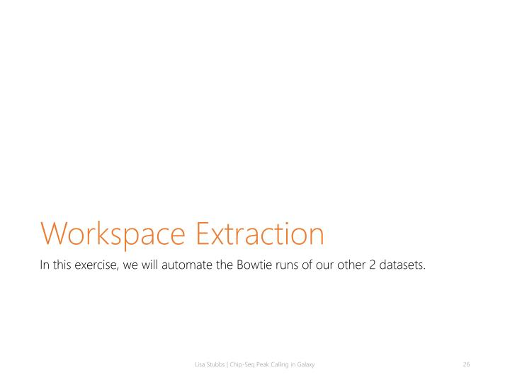 Workspace Extraction