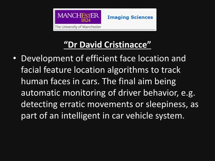 """Dr David"