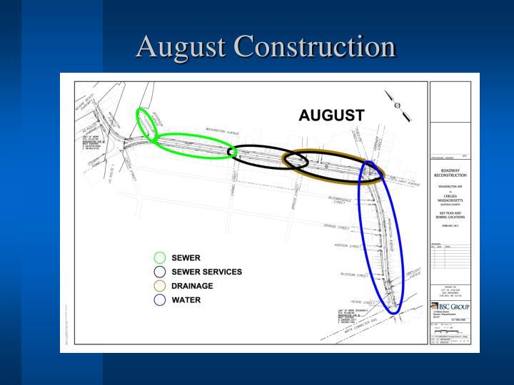 August Construction
