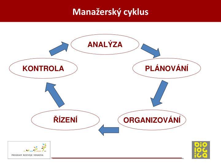 Manažerský cyklus