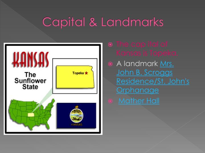 Capital & Landmarks