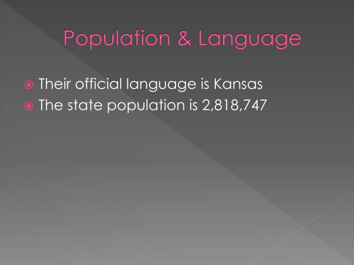 Population & Language