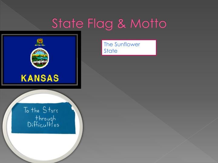 State Flag & Motto