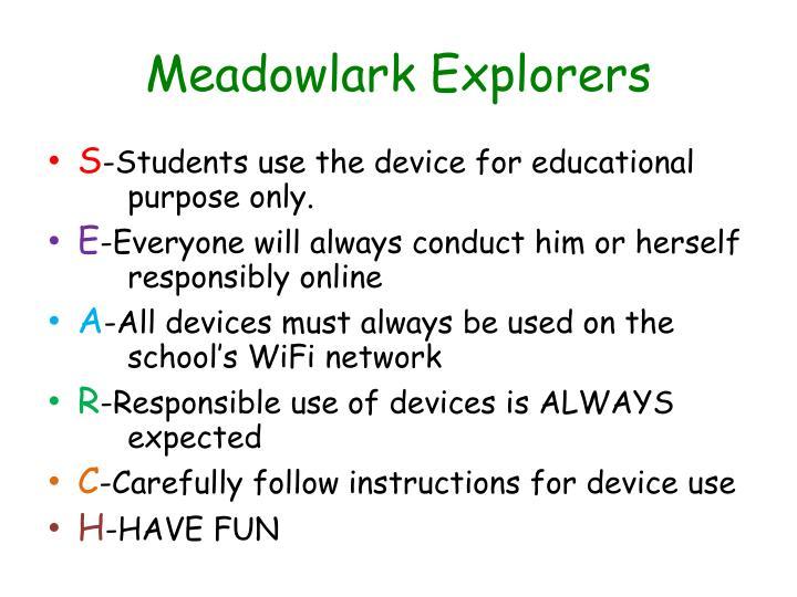 Meadowlark Explorers