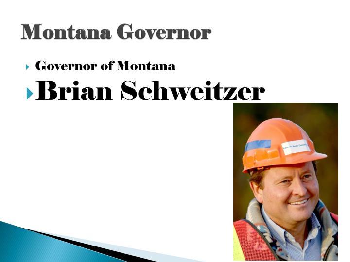 Montana Governor