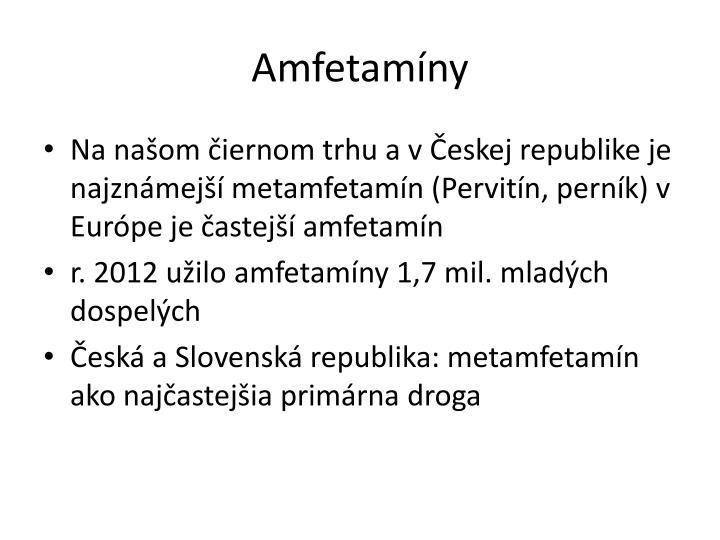Amfetamíny