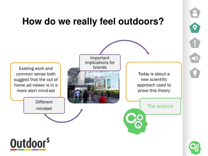 How do we really feel outdoors