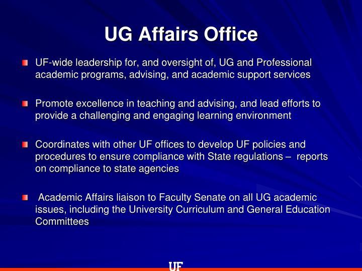 UG Affairs Office