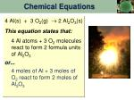 chemical equations1