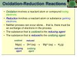 oxidation reduction reactions2