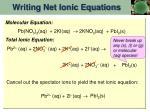 writing net ionic equations3