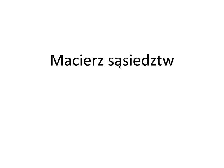 Macierz