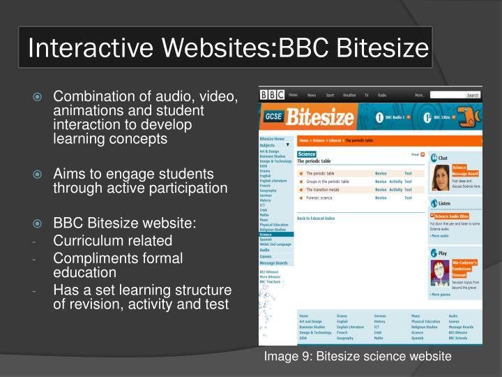 Interactive Websites:BBC Bitesize
