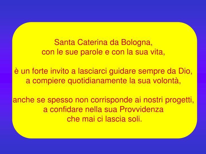 Santa Caterina da Bologna,