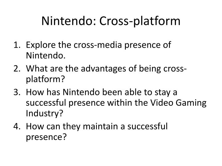 Nintendo: Cross-platform
