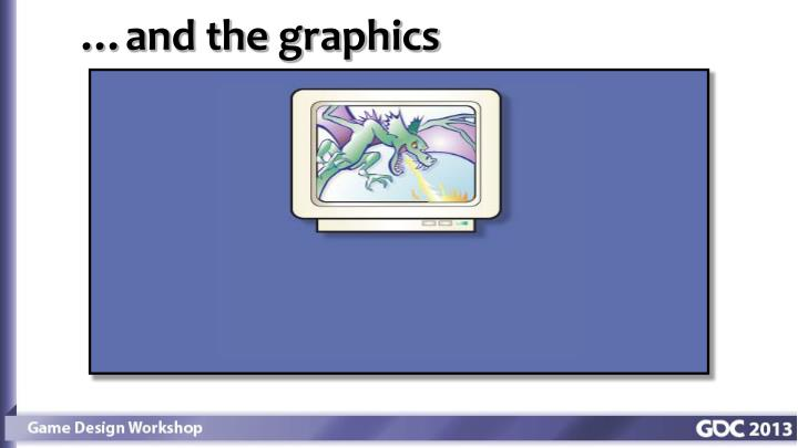 …and the graphics