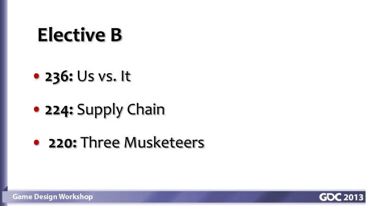 Elective B