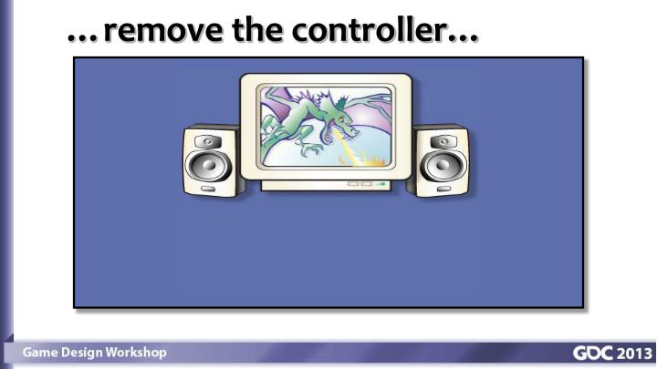 …remove the controller…