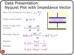 data presentation nyquist plot with impedance vector2