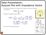 data presentation nyquist plot with impedance vector5