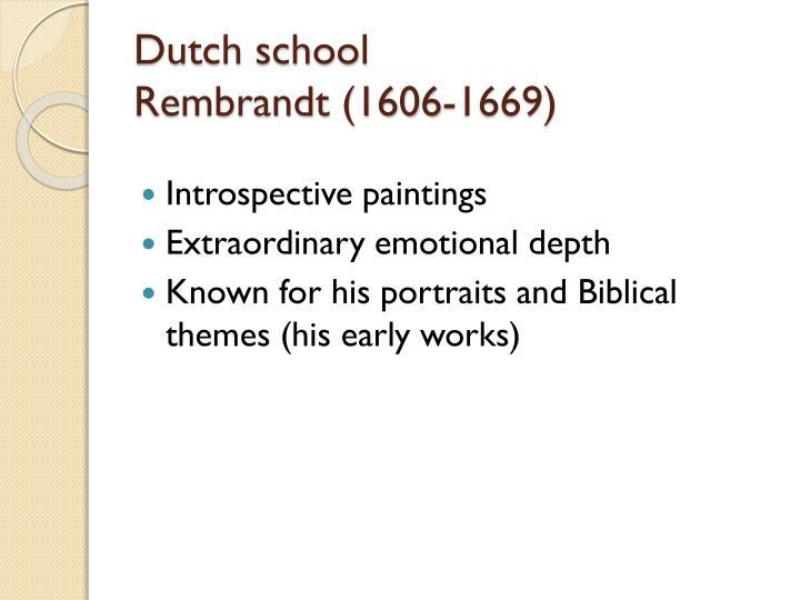 Dutch school