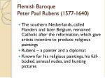 flemish baroque peter paul rubens 1577 1640