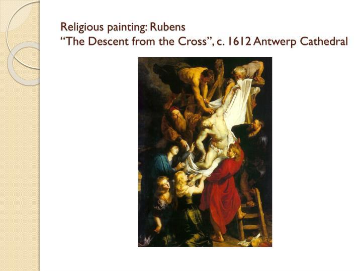 Religious painting: Rubens