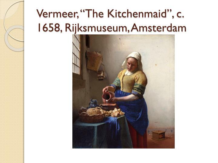 """Vermeer, """"The"""