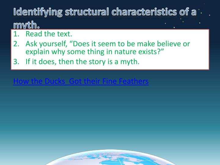 Identifying structural