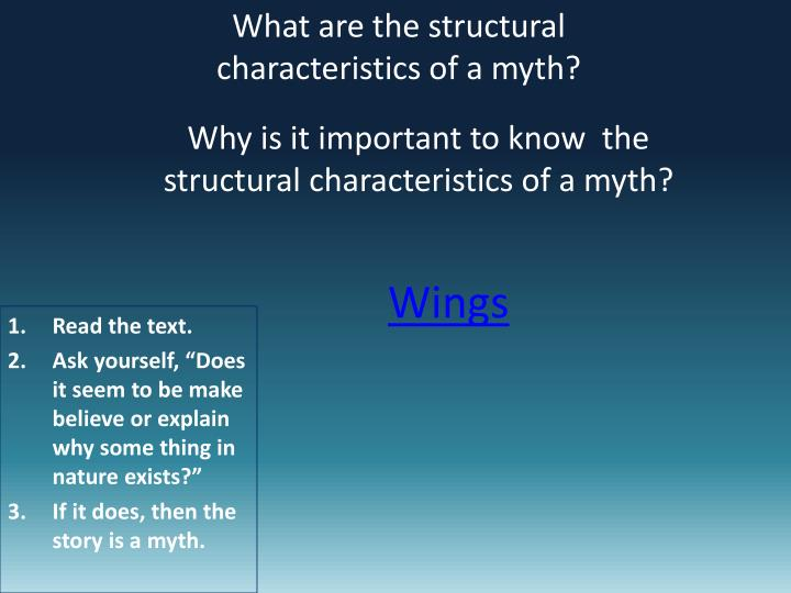 What are the structural characteristics of