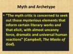 myth and archetype1