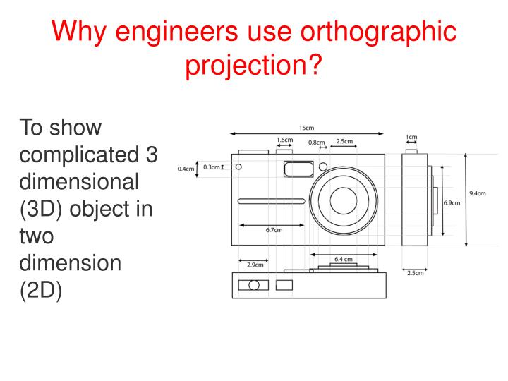 Why engineers use orthographic projection1
