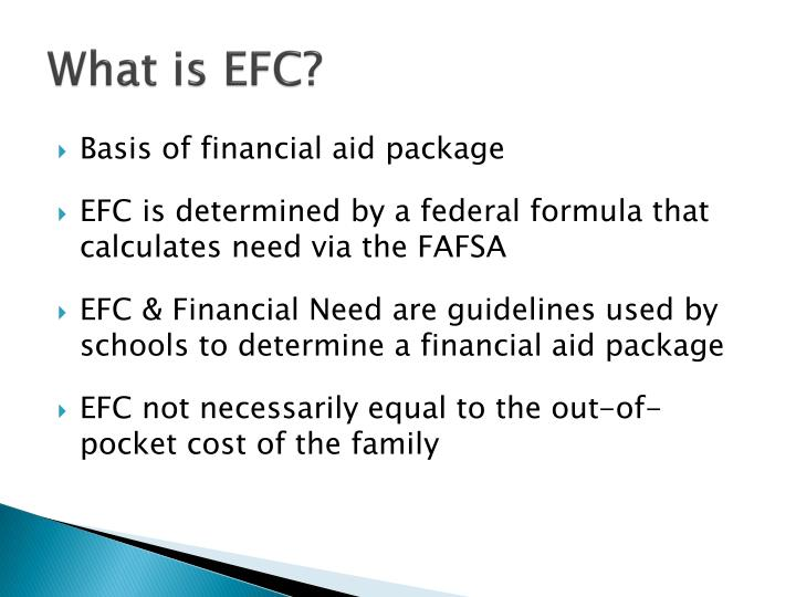 What is EFC?
