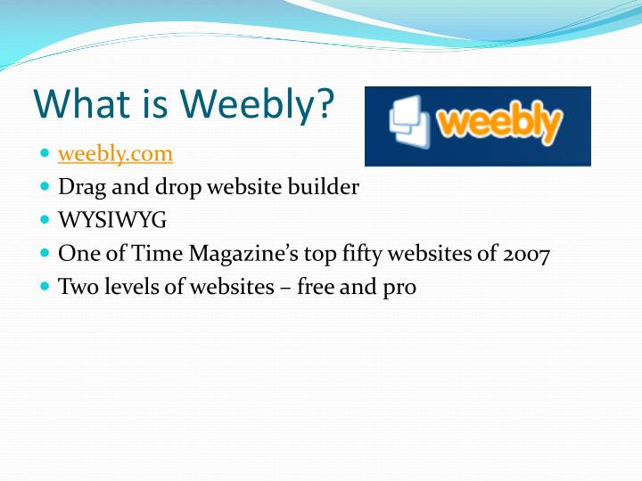 What is weebly1
