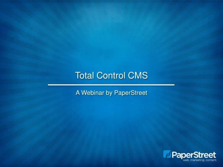 total control cms