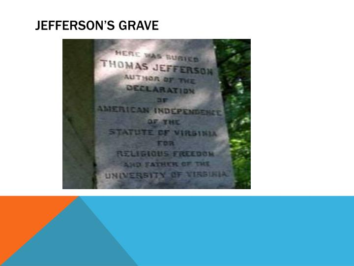 Jefferson's Grave