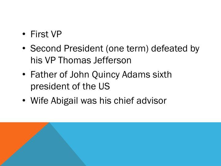 First VP