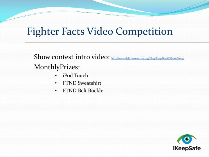 Fighter Facts Video Competition